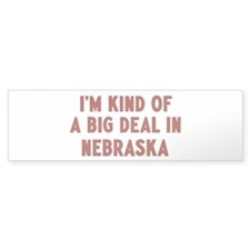 Big Deal in Nebraska Bumper Sticker (10 pk)