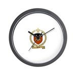 ORION Family Crest Wall Clock