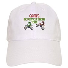 Gavin's Motorcycle Racing Baseball Cap