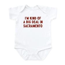 Big Deal in Sacramento Infant Bodysuit