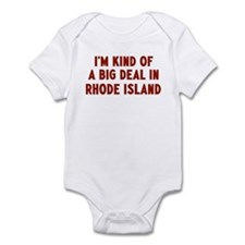 Big Deal in Rhode Island Infant Bodysuit