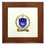MOUTON Family Crest Framed Tile