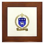 MOUTON Family Crest Framed Tile