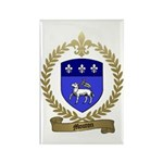 MOUTON Family Crest Rectangle Magnet