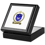 MOUTON Family Crest Keepsake Box