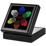 Celebrate Diversity Circle Keepsake Box