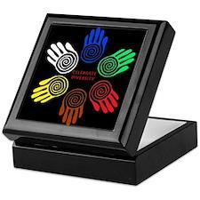 Celebrate Diversity Circle Keepsake Box