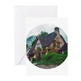 English cottage Greeting Cards (Pk of 10)
