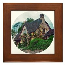 English cottage Framed Tile