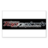 Topnotch Rectangle Decal