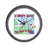 ROAD TO HANA MAUI...! Wall Clock