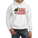 Senior Citizen Discount Hoodie Sweatshirt