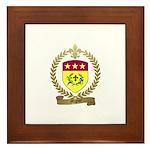 MIGNOT Family Crest Framed Tile