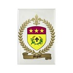 MIGNOT Family Crest Rectangle Magnet (100 pack)