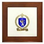 MICHEL Family Crest Framed Tile