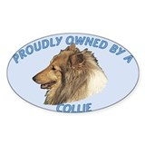 Proudly Owned Collie Decal