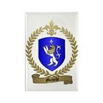 MICHELLE Family Crest Rectangle Magnet (100 pack)