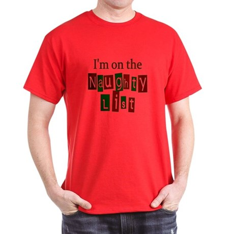 Naughty List Dark T-Shirt