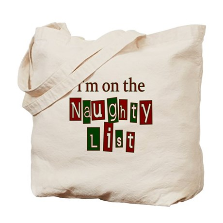 Naughty List Tote Bag