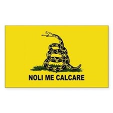 Don't Tread On Me (Latin) Rectangular Decal