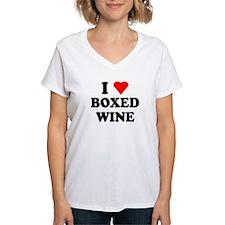 I Love Boxed Wine Shirt