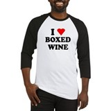 I Love Boxed Wine Baseball Jersey