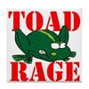TOAD RAGE Tile Coaster