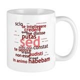 Not What I Meant (Latin) Mug