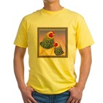 Buff Brahma Chickens Yellow T-Shirt