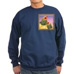 Buff Brahma Chickens Sweatshirt (dark)