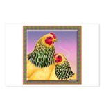 Buff Brahma Chickens Postcards (Package of 8)