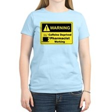 Caffeine Warning Pharmacist T-Shirt