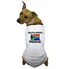 South Africa Rocks! Dog T-Shirt