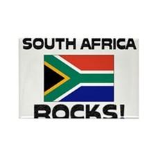 South Africa Rocks! Rectangle Magnet