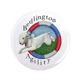 Agility Bedlington 3.5&quot; Button