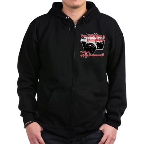 Borrower Zip Hoodie (dark)