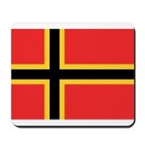 German Resistance Flag Mousepad