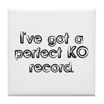 Funny Anesthesiologist Tile Coaster