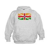 Anglo Indian Flag Hoody