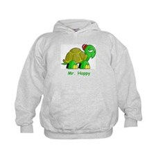 Mr. Happy cartoon turtle Hoodie