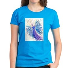 Indigo Crystal Angel Women's T-Shirt