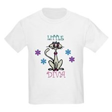 Little Diva Cat T-Shirt