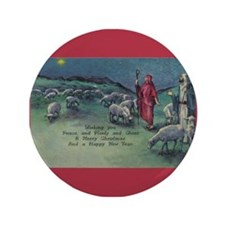 "1910 Shepherds and Star 3.5"" Button (100 pack)"
