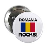 "Romania Rocks! 2.25"" Button"