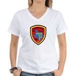 Denton Dispatcher Women's V-Neck T-Shirt