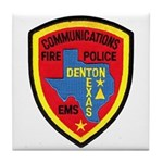 Denton Dispatcher Tile Coaster
