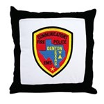 Denton Dispatcher Throw Pillow