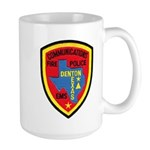 Denton Dispatcher Large Mug