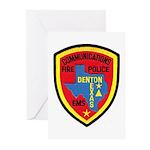 Denton Dispatcher Greeting Cards (Pk of 20)