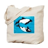 Commerson's Dolphin Tote Bag